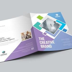 Neptune Professional Corporate Presentation Folder Template