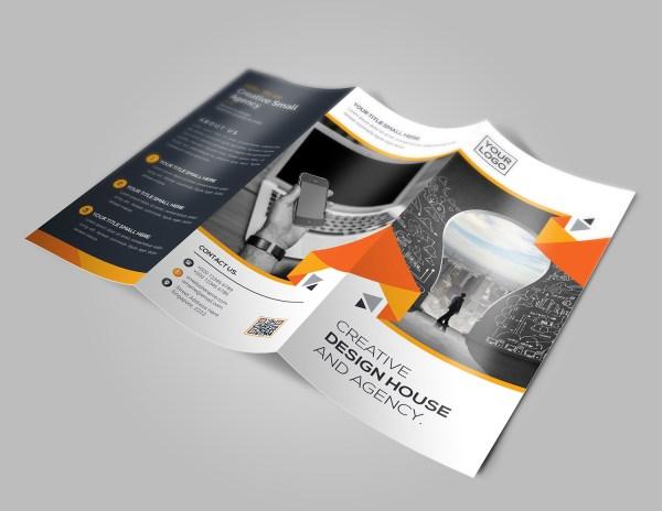 New Idea Tri-Fold Brochure Template
