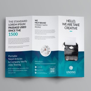 Ocean Corporate Tri-Fold Brochure Templates
