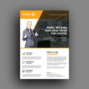 Oklahoma Professional Business Flyer Template