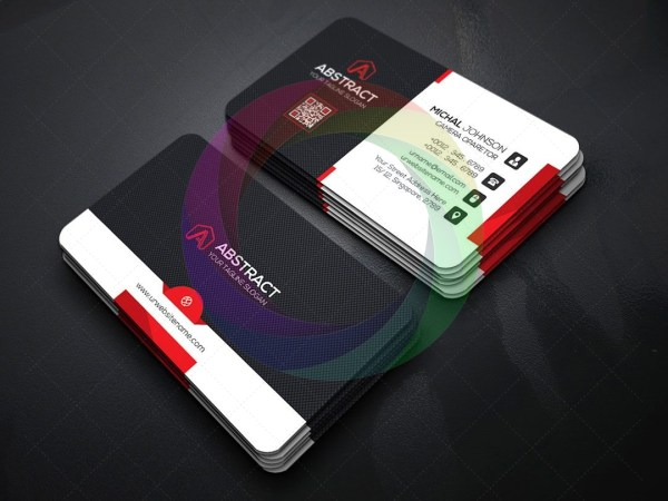 PSD Business Card Template