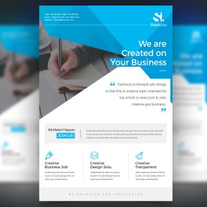 Pegasus Modern Professional Business Flyer Template