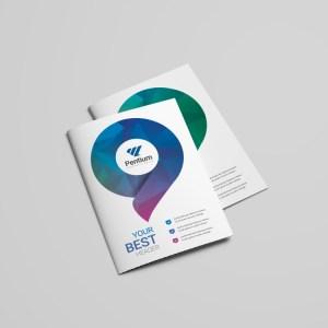 Polaris Professional Bi-Fold Brochure Template