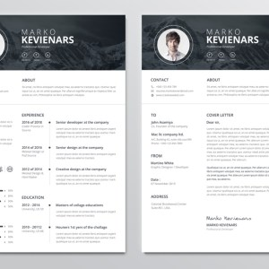 Poseidon Premium Professional Resume Template