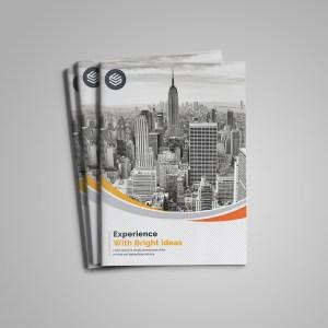 Premium Elegant Bi-Fold Brochure Design