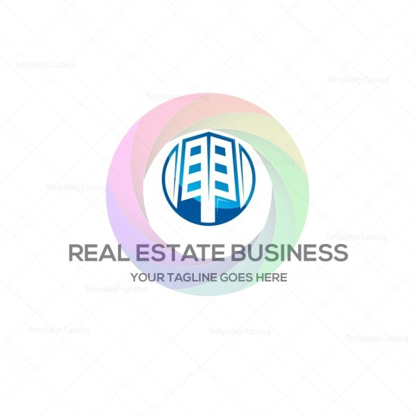 Real estate business logo template graphic templates real estate business logo templateg accmission Images