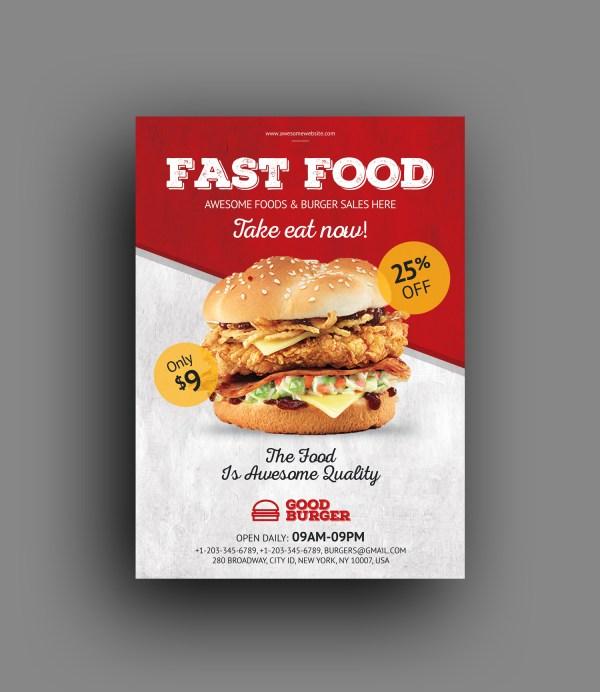 Restaurant Professional Flyer Template