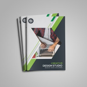 Sapphire Bi-Fold Brochure Template