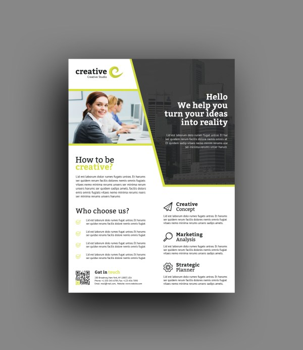 Seoul Modern Professional Business Flyer Template