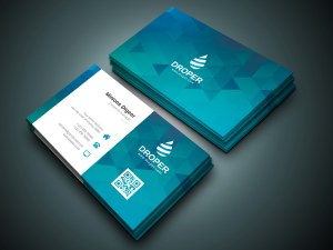 Shark Professional Corporate Business Card Template