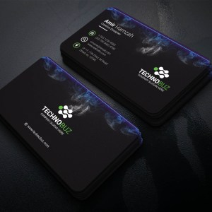 Smoke Creative Corporate Business Card Template