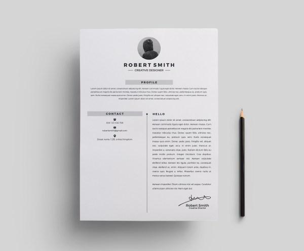 Star Stylish Resume Template