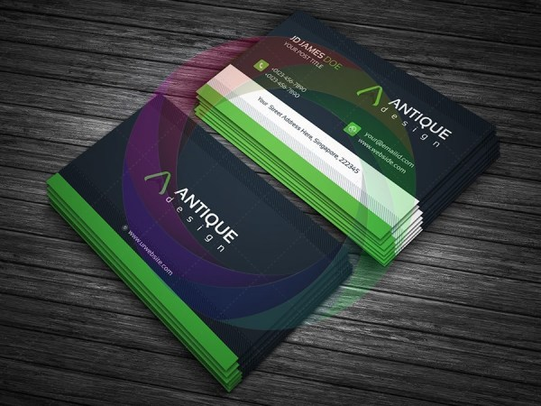Stylish Business Card Design 5