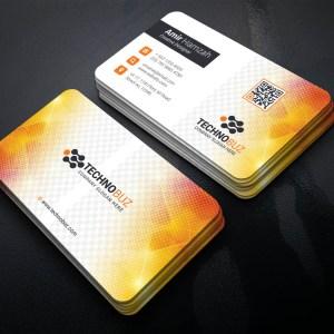 Vivid Professional Corporate Visiting Card Template