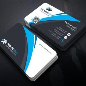 Top Class Business Card Template
