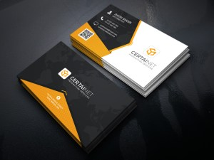 Twilight Elegant Corporate Business Card Template