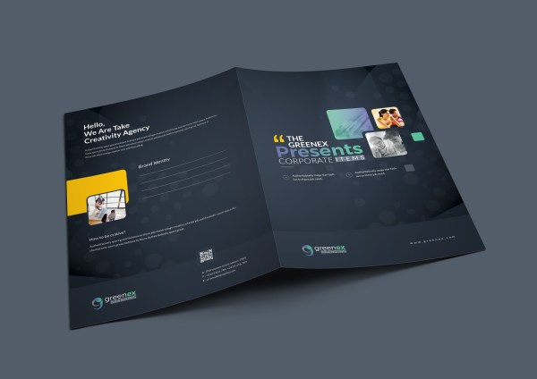 Vega Professional Corporate Presentation Folder Template
