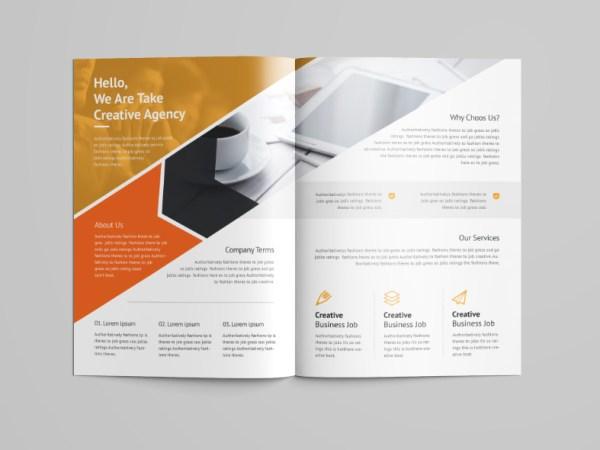 Versatile Professional Bi-Fold Brochure Template