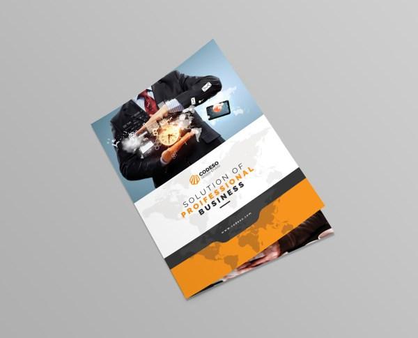 World Bi-Fold Brochure Template