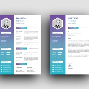 Zeus Modern Professional Resume Template