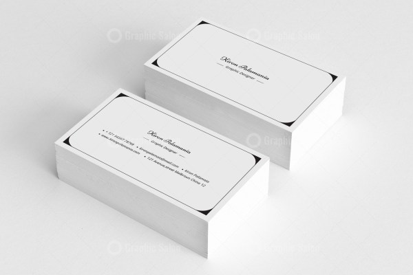 Classic Visiting Card Templates 1