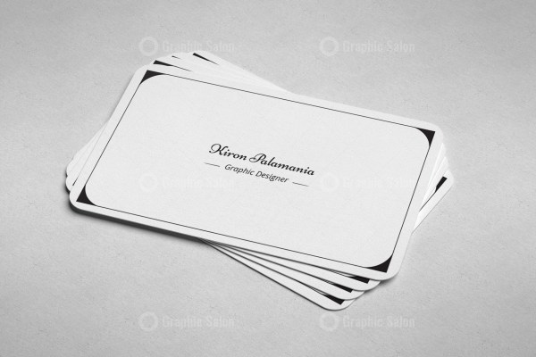 Classic Visiting Card Templates 3