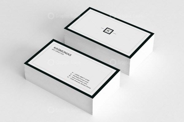 Minimalist Business Card Templates