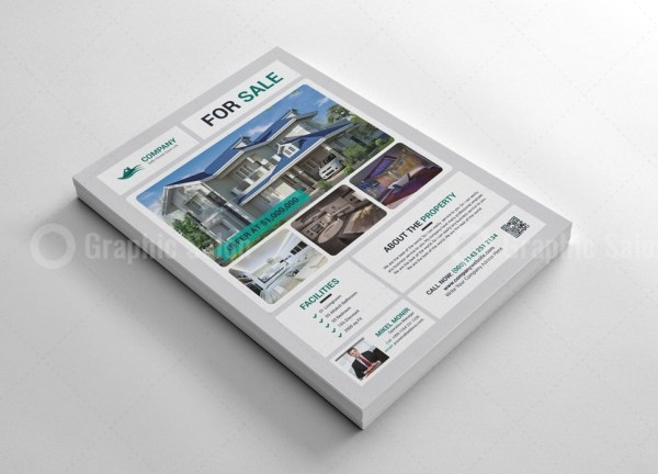 Real Estate Print Flyer Templates