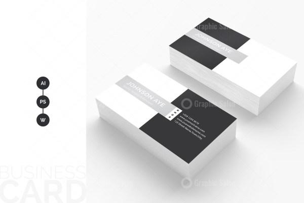 Checkered Visiting Card Templates 2