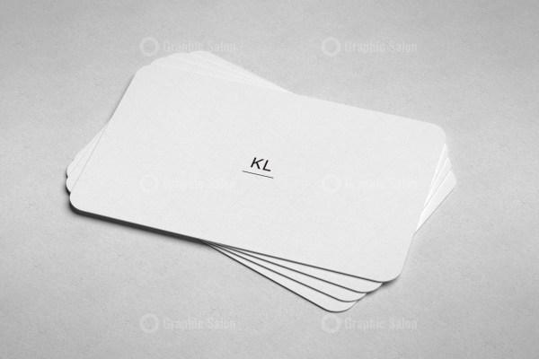 Minimal Visiting Card Templates
