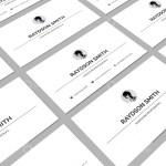 Minimalist Visiting Card Templates 5