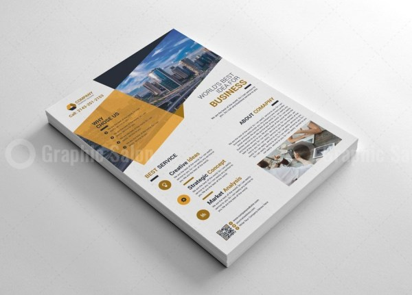 Modern Print Flyers Template 3