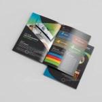 Premium Business Bi-Fold Brochure Design 1