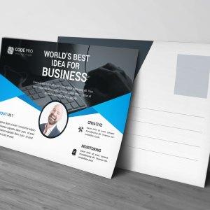 Premium Stylish Postcard Design