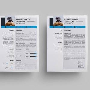 Minimalist Modern CV Design