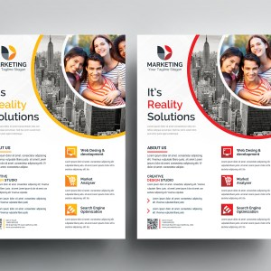 PSD Sleek Flyer Templates