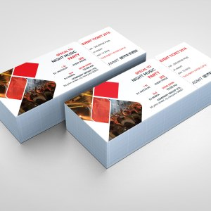 Best PSD Event Ticket Templates