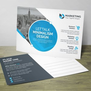 Best PSD Postcard Design Templates