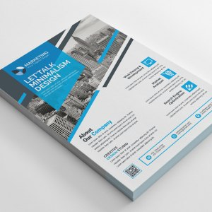 PSD Print Flyer Templates