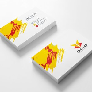 Creative Visit Card Template