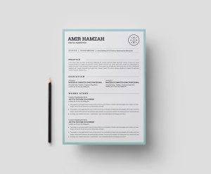 Minimal Print Resume Templates