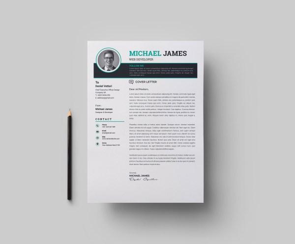 A4 Expert CV Template