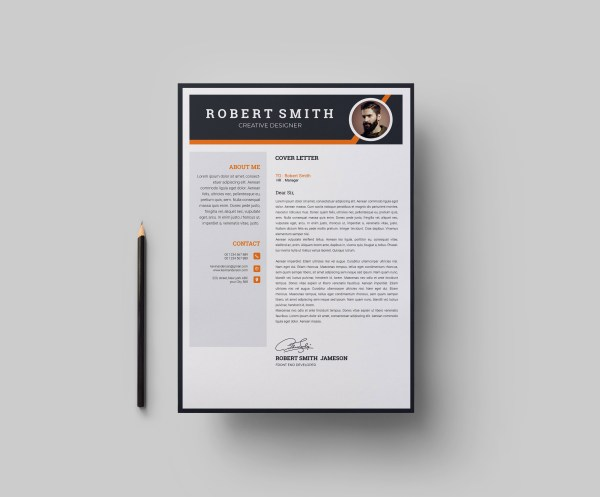 EPS Elegant Resume Template