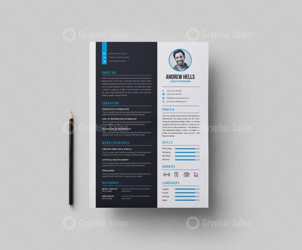 Creative Vector Resume CV Design