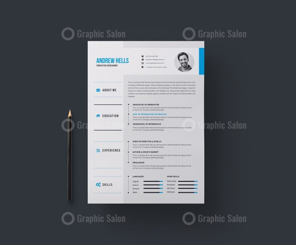 Vector Resume CV Template