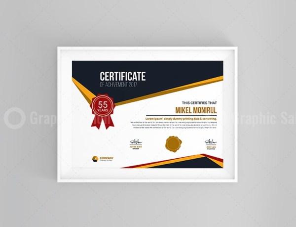 Creative Certificate