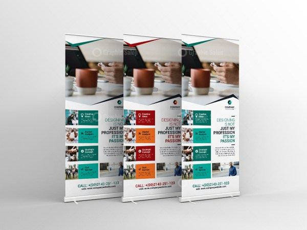 Print Roll-Up Banner Template