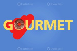 Word Gourmet on Creative Background