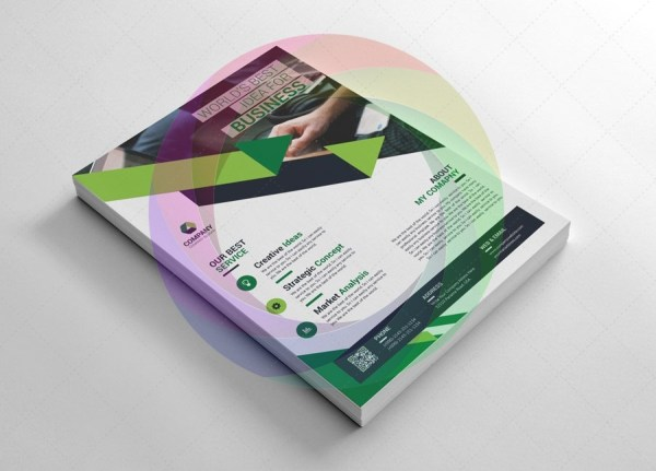 Contemporary Business Flyer Templates 5
