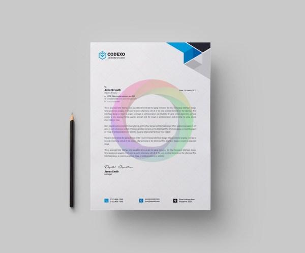 Clean Letterheads Design 1